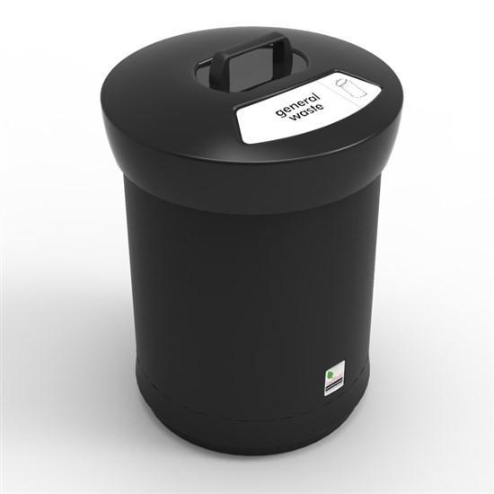 Урна с крышкой для сбора общего мусора