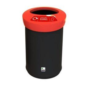 Урна для сбора пластика в средних помещениях.. Объем 62 литра.