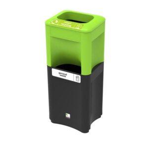 Модульная стойка- урна для раздельного сбора сортированного мусора