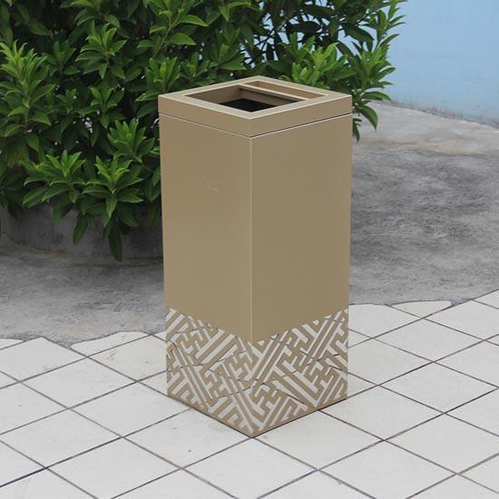 Урна квадратного сечения металлическая Square 130