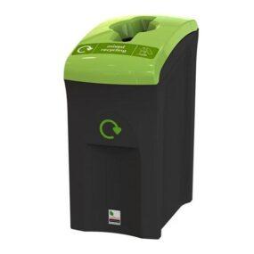 Урна для сбора мусора для дельнейшей переработки 55 литров напольная