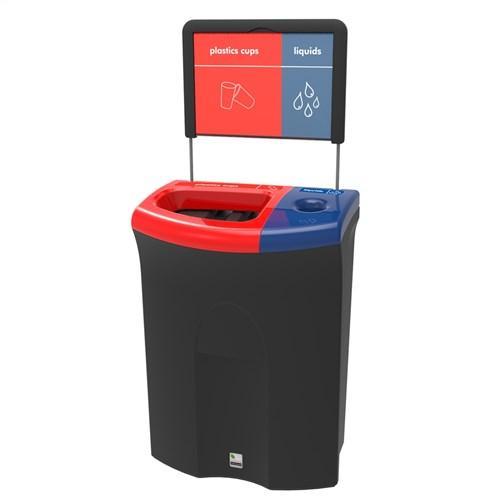 Урна для мусора и слива жидкости Meredian