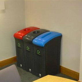 Урны для раздельного сбора алюминий бумага пластик