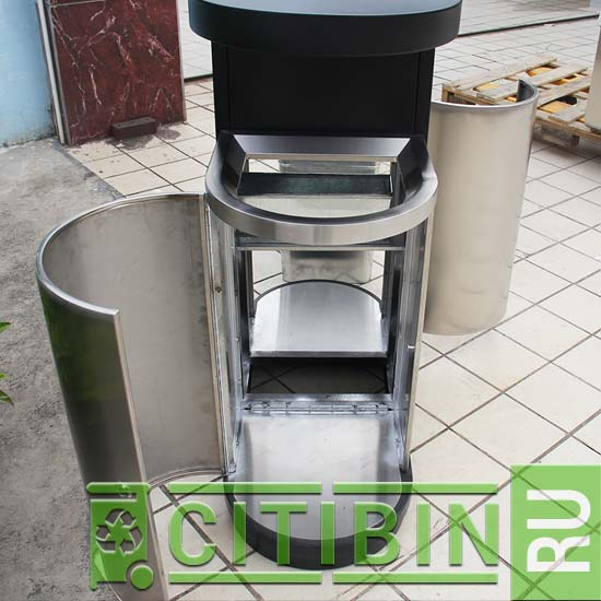 Оригинальное решение для утилизации собранного мусора