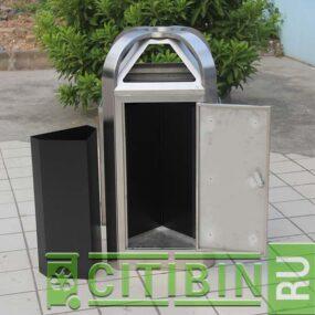 Удобная дверка для извлечения собранного мусора