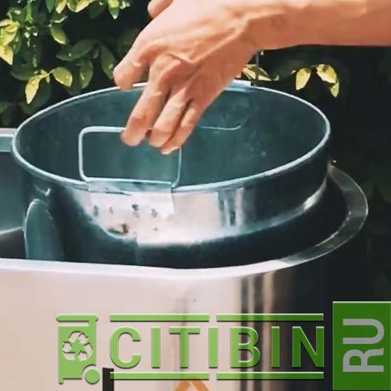 внутренние баки для мусора в нержавеющей урне