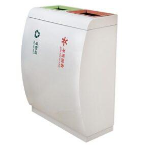 Урна внутренняя для раздельного сбора 2 вида мусора