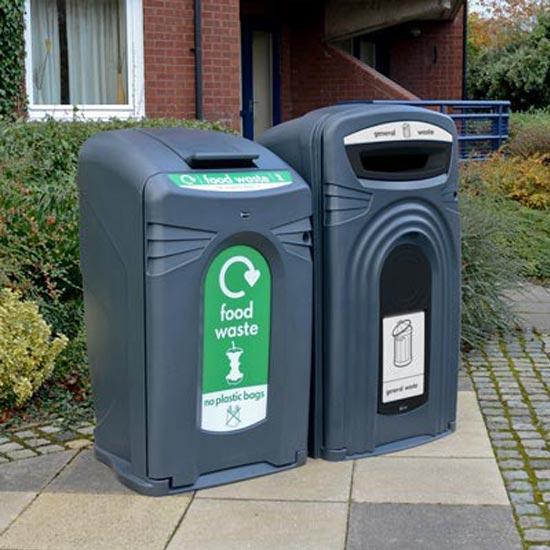 Закрытый контейнер для раздельного сбора мусора NEXUS GLASDON Англия