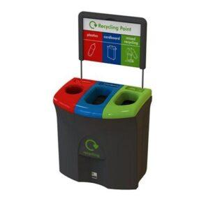 Урна для 3 видов мусора Meridian trio