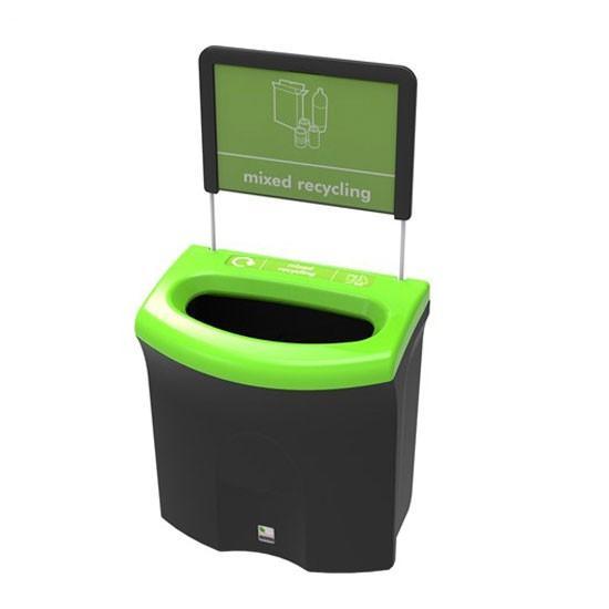 Урна сбора для общего мусора в помещениях вместимость 87 литров