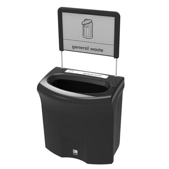 Урна 87 литров для общего мусора в помещениях