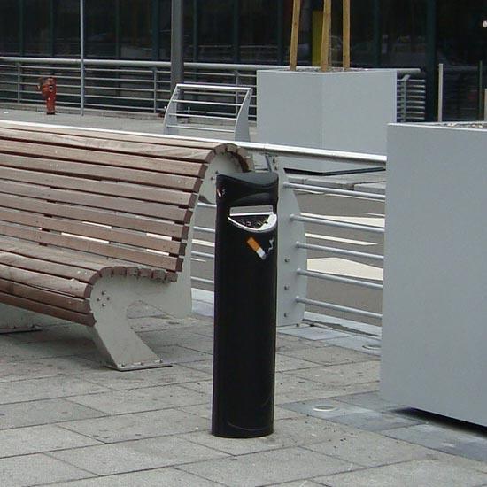 уличная пепельница напольная для мест курения
