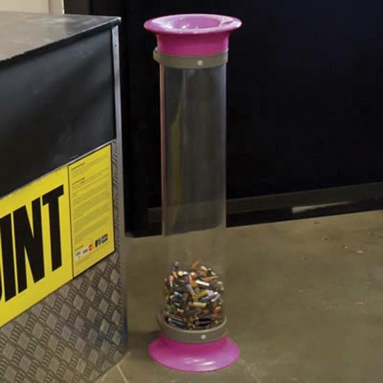 Урна прозрачная для батареек C-Thru 15 литров