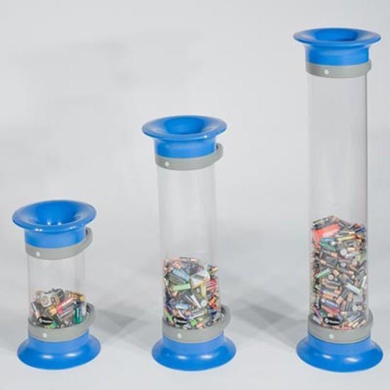 Прозрачные урны контейнеры для использованных батареек C-THRU GLASDON