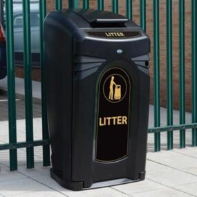 Уличный мусорный контейнер Nexus city Glasdon