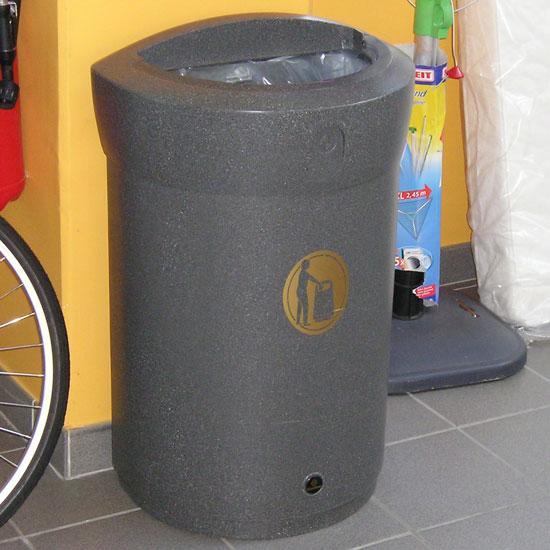 Урна для коридоров и узких помещений ENVOY 110 литров GLASDON