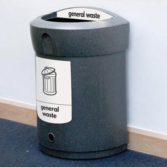 Урна для общего мусора в помещениях ENVOY 90