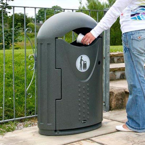 Уличные урны для мусора Evolution Glasdon Англия
