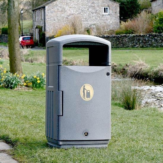 Парковая мусорная урна GLASDON FUTURO
