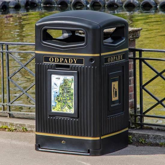 Мусорный контейнер 240 литров Англия Glasdon
