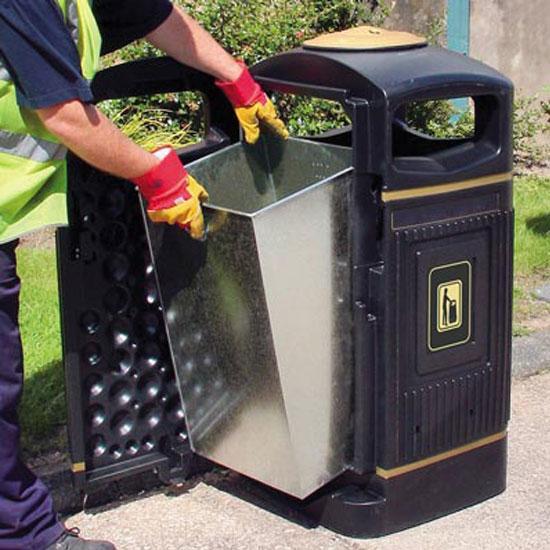 Внутренний бак для мусора 110 литров