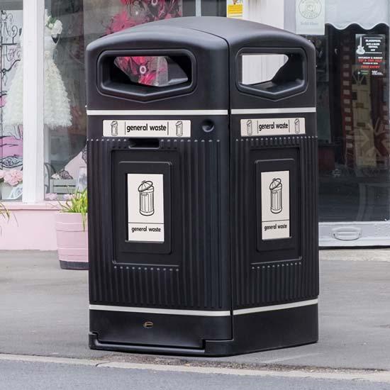 Уличный контейнер для площадей 240 литров Jubilee
