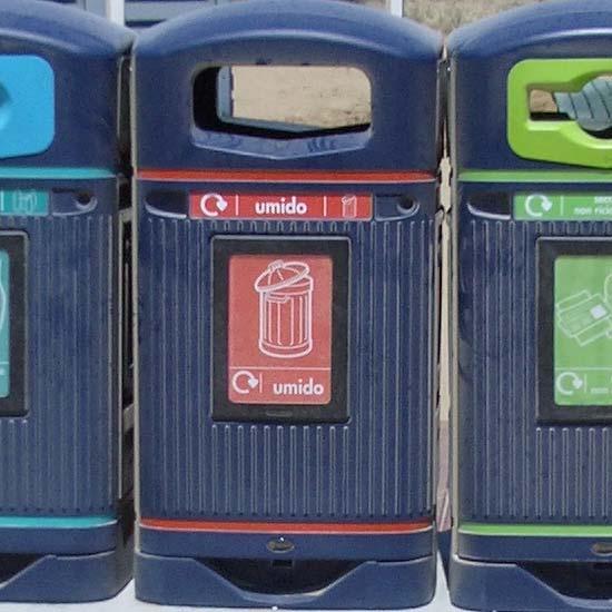 урны для раздельного сбора общего мусора