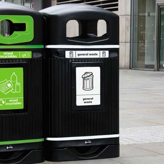Урна уличная для не перерабатываемого мусора