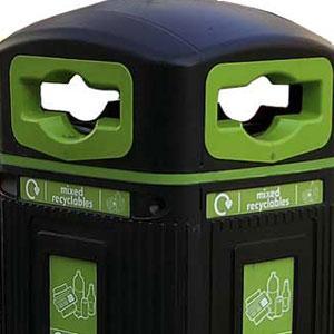 Урна JUBILEE для пластиковых бутылок
