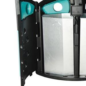 Уличная урна Nexus 200 стекло + бумага