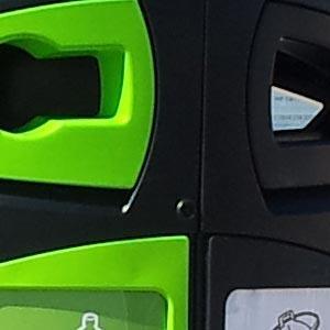 Урна Nexus 200 общий и перерабатываемый мусор