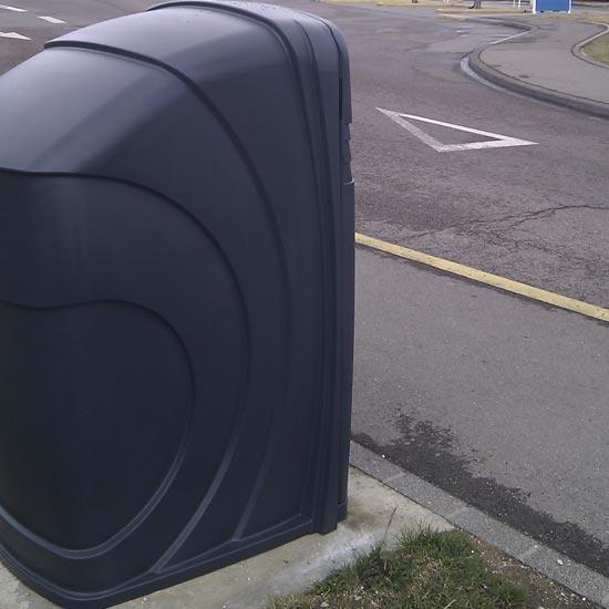 Корпус уличного контейнера для мусора 360 литров NEXUS GLASDON