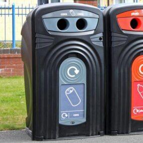 Уличный контейнер для сбора банок из алюминия Nexus 360 CAN