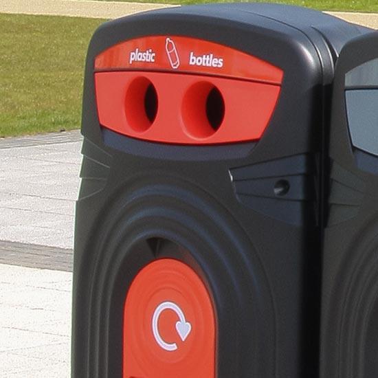 Мусорный контейнер для пластика NEXUS 360 литров