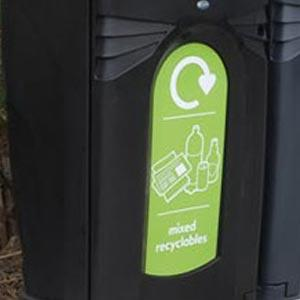 Уличная урна для сортируемого мусора Nexus C 140
