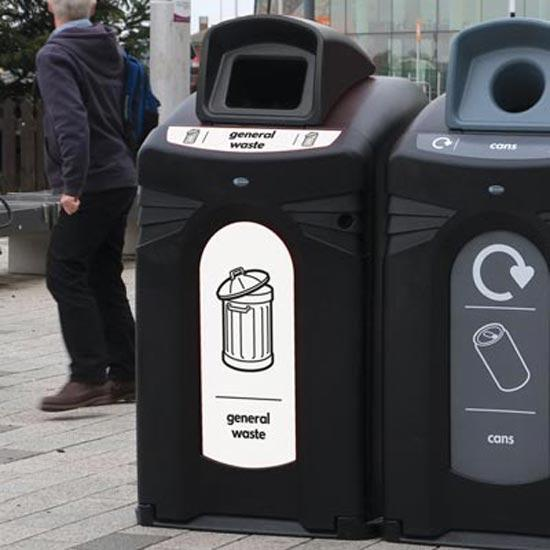 Контейнер для общего мусора NEXUS City 240 литров GLASDON Англия