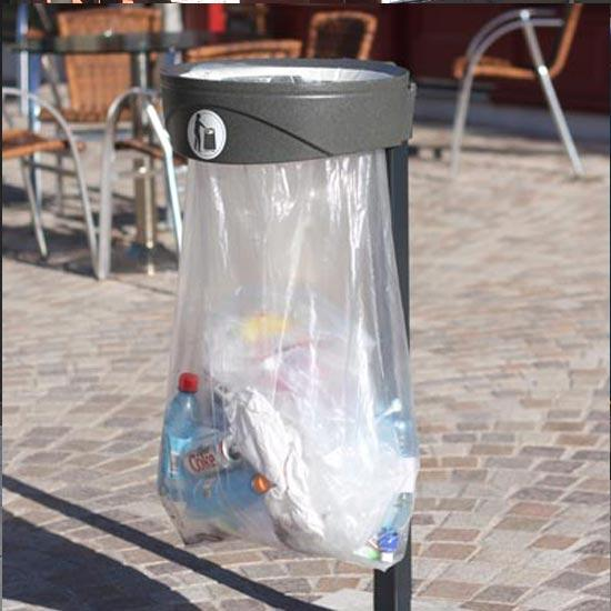 уличная прозрачная урна для пакетов ORBIS