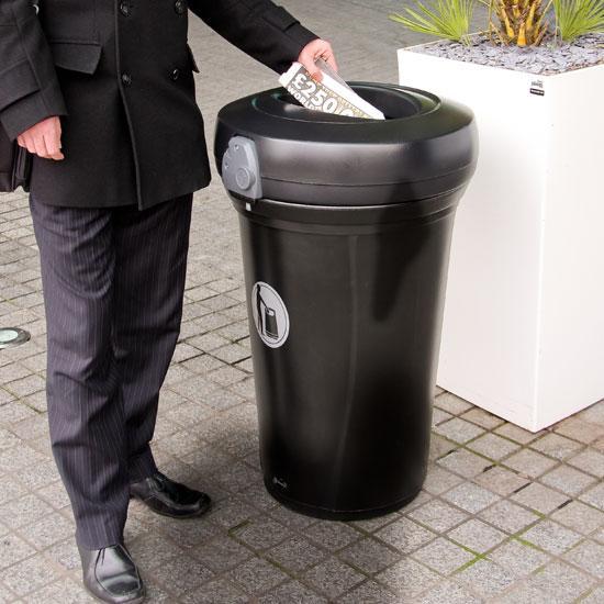 Урна внутренняя для 130 литров мусора