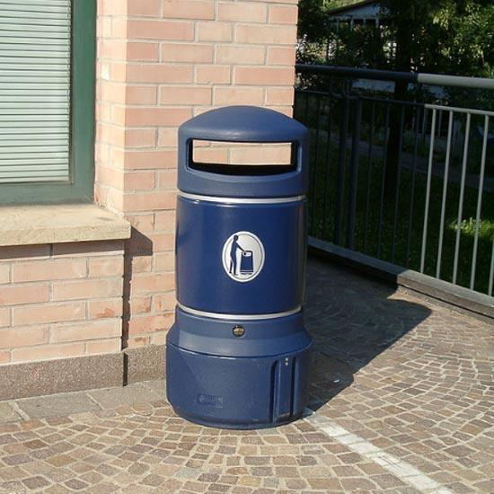 мусорная урна для городов Plaza mini 63 литра
