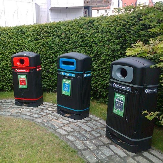 Уличные мусорные контейнеры Streamline Jubilee Glasdon