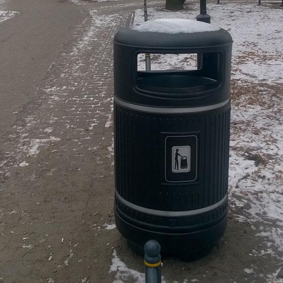 Урна уличная антивандальная GLASDON 90 литров