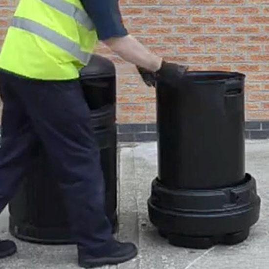 Внутренний бак для мусора урны GLASDON Topsy