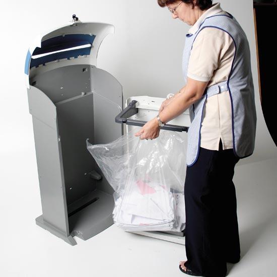 Извлечение мусора из урны NEXUS 100