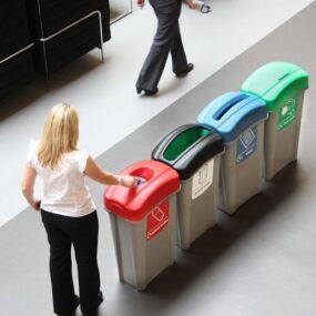 Урна отдельные для раздельного мусора ECO NEXUS 85 литров GLASDON