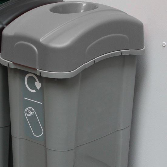 Урна для сбора банок из алюминия 85 литров ECO NEXUS