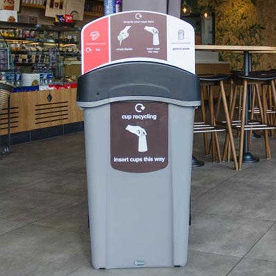Урна для мусора, стаканчиков и жидкостей ECO NEXUS