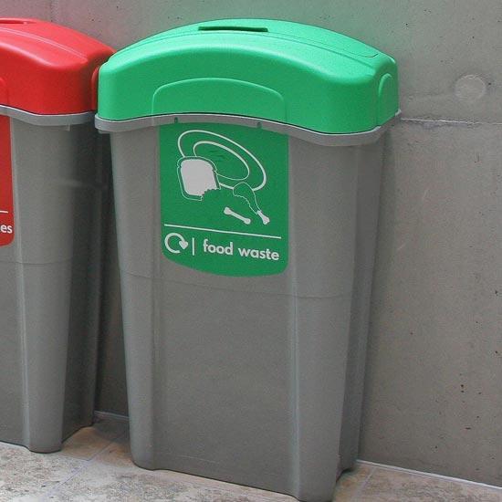 Урна для сбора пищевых отходов с закрытым верхом 85 литров ECO NEXUS FOOD