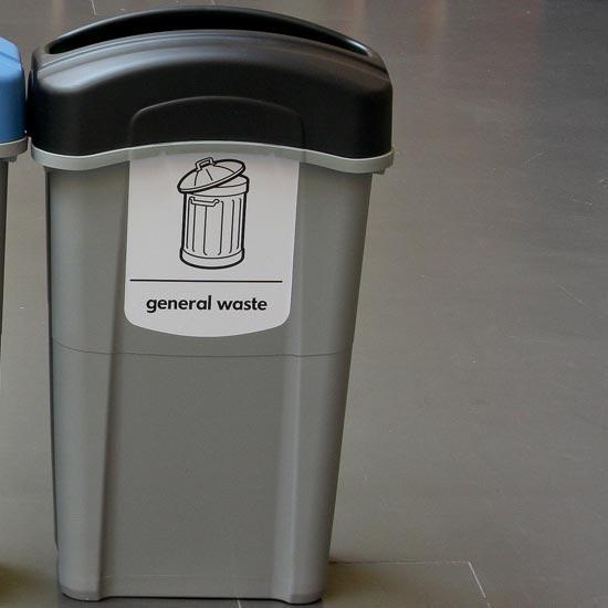 Урна для общего мусора в помещениях 85 литров ECO NEXUS GLASDON