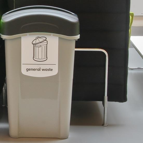Узкая урна мусора ECO NEXUS 85 General