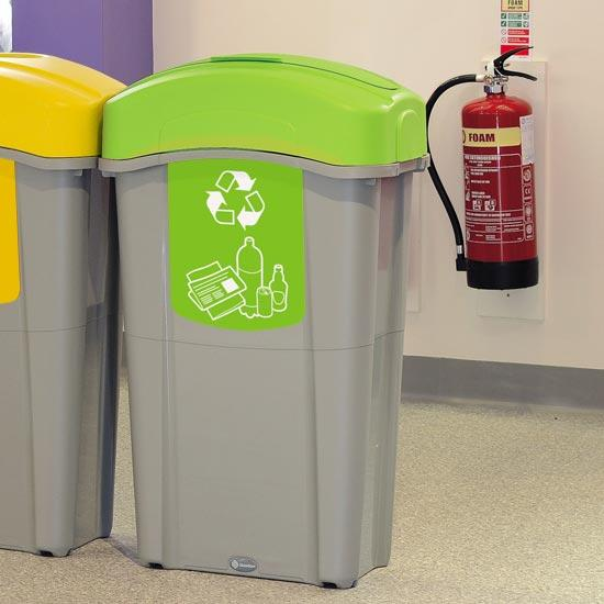 Урны для бытового мусора ECO NEXUS 85 mixed